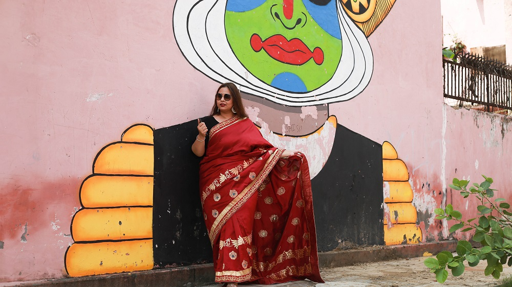One Saree Fits All Ft CRAFTSVILLA