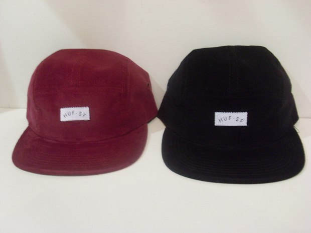 Corduroy volleyball 5 panel red_black