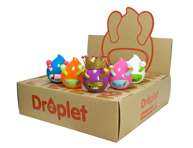 Droplet Series 2 display case