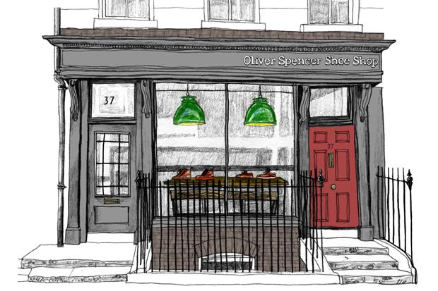 Oliver Spencer Opens A Shoe Shop