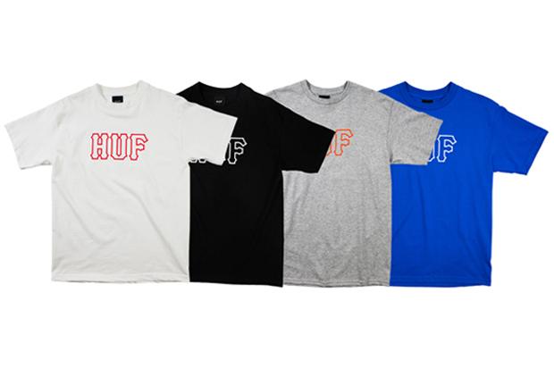 HUF-Classic-Team-Logo-T-Shirts