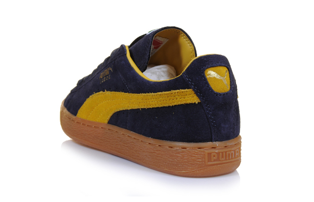 Puma Suede Classic (Navy Mustard Yellow) b5d85ab3c