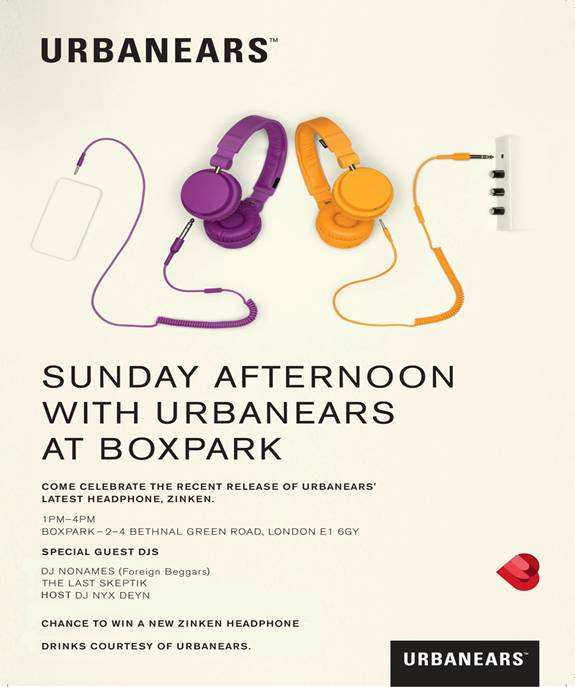 Urbanears-Zinken-Launch-At-Boxpark
