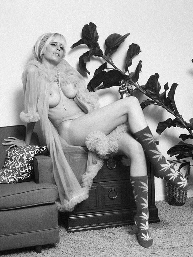 Chimp Store Huf Plantlife Vintage Erotica Lookbook Nsfw