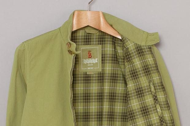 Baracuta Garment Dyed Jackets 01