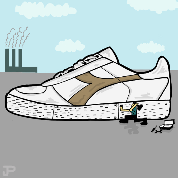 Trainer Takeover Sneaker Illustration Series by Josh Parkin The Daily Street 04