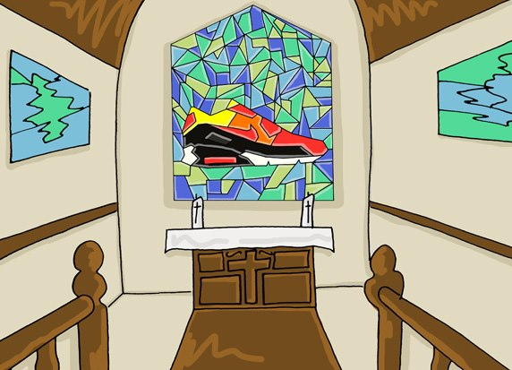 An Illustrated Preview of Nike SS13 Footwear by Josh Parkin for The Chimp Store 02