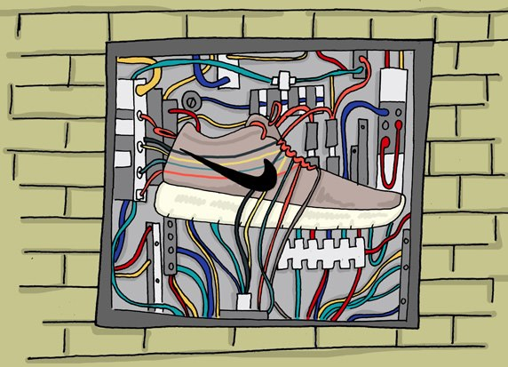 An Illustrated Preview of Nike SS13 Footwear by Josh Parkin for The Chimp Store 09