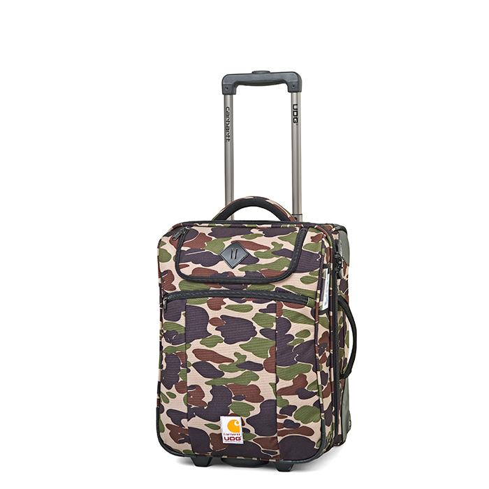 Carhartt WIP x UDG Camo Island Print Luggage 05