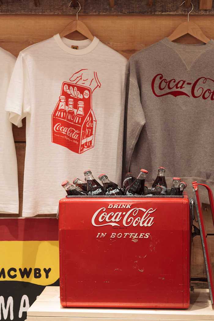 Human Made x Coca-Cola display Present London 04