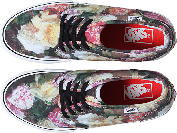 Supreme x Vans Rose Print Triple Pack 02