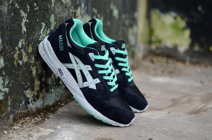 Asics Gel Saga Black Spearmint 01
