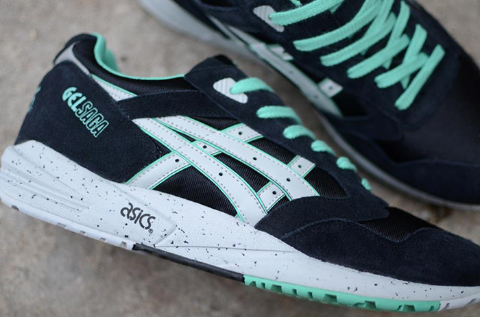 Asics Gel Saga Black Spearmint 02