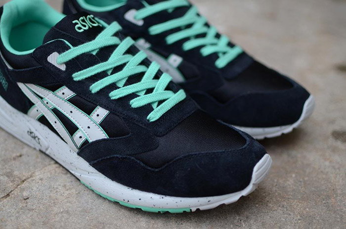 Asics Gel Saga Black Mint (#686932) from thomsom at KLEKT