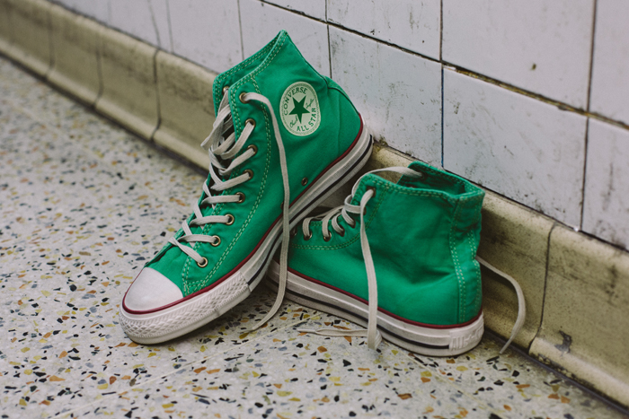 Converse Well Worn Collection green shot by The Daily Street 02