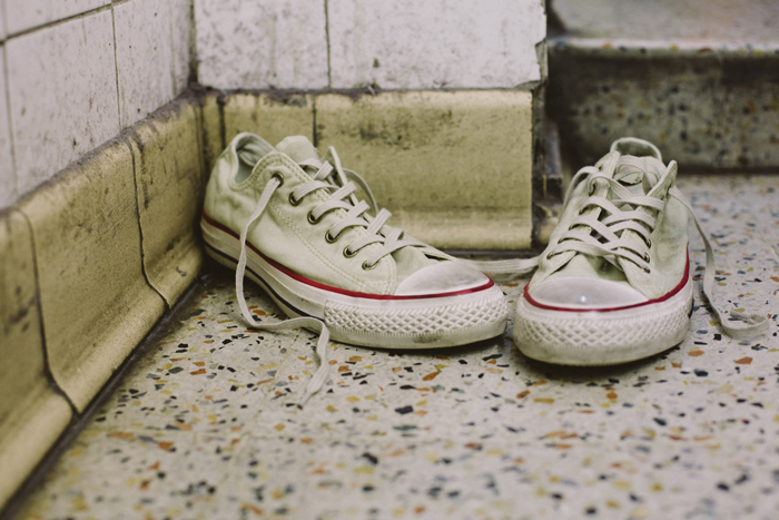 Converse Well Worn Collection white shot by The Daily Street 01