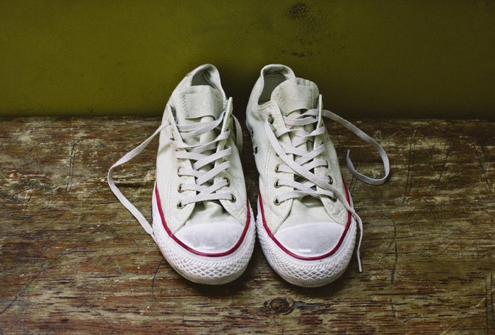 Converse Well Worn Collection white shot by The Daily Street 04