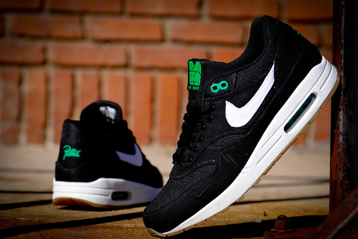 Patta x Nike Air Max 1 Lucky Green 01