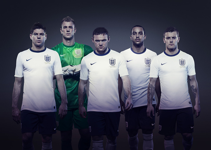 Nike announce first England football kit 01