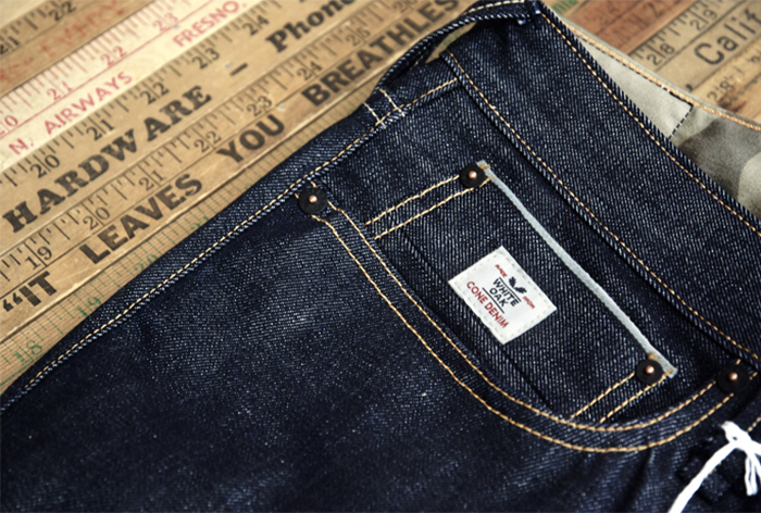 Denham x Cone Mill Virgin Denim 02