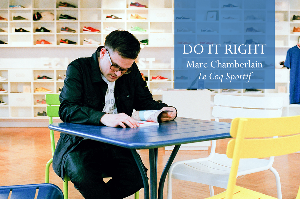 Do It Right interview Marc Chamberlain Le Coq Sportif The Daily Street 01