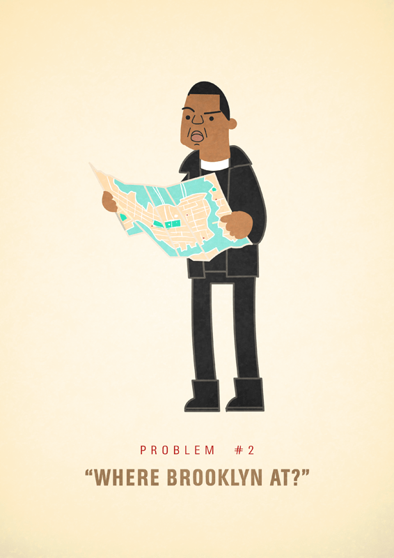 Jay-Z 99 problems illustrated by Ali Graham 06