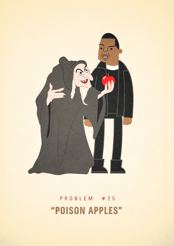 Jay-Z 99 problems illustrated by Ali Graham 12