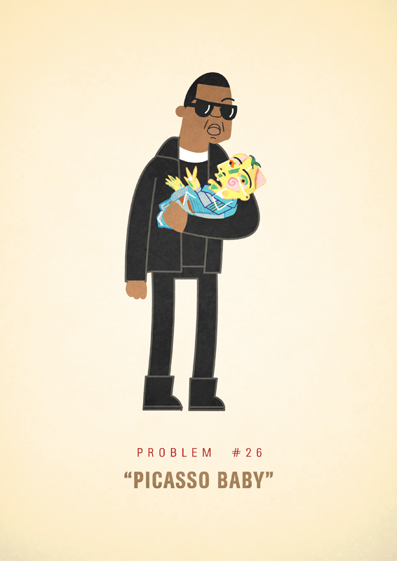 Jay-Z 99 problems illustrated by Ali Graham 13