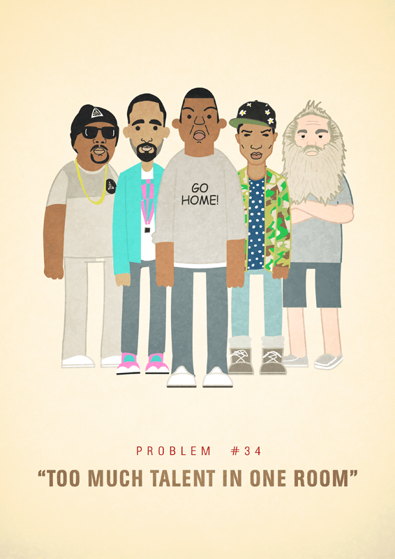 Jay-Z 99 problems illustrated by Ali Graham 18
