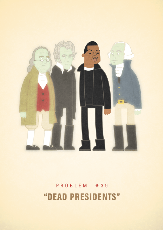 Jay-Z 99 problems illustrated by Ali Graham 19