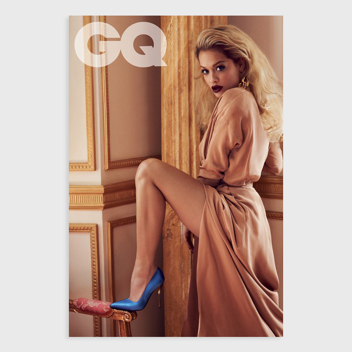 Rita Ora covers August 2013 issue British GQ 04