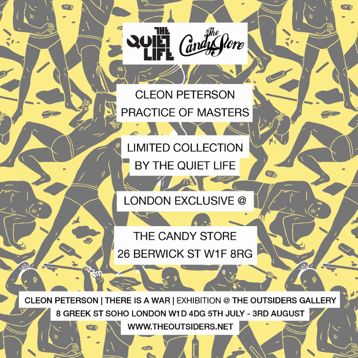 TheQuietLife-Cleon-Peterson-Candy-Flyer
