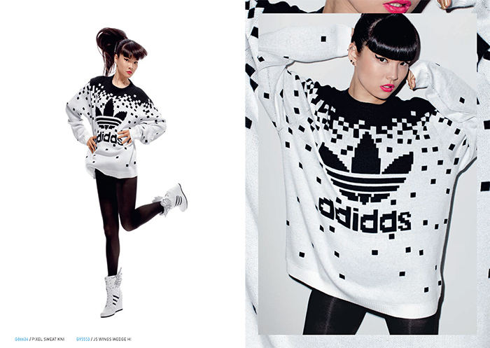 adidas Originals by Jeremy Scott Fall:Winter 2013 Lookbook 12