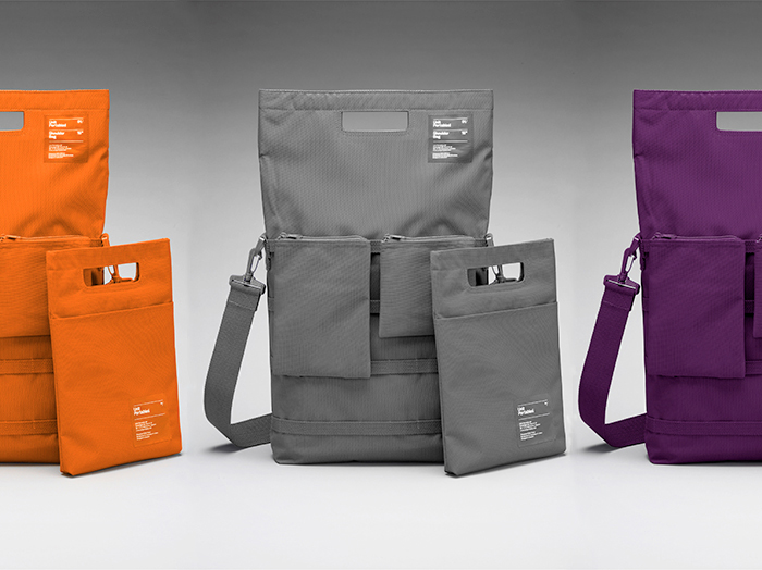 Unit Portables AW13 Block Colour Luggage Collection 01