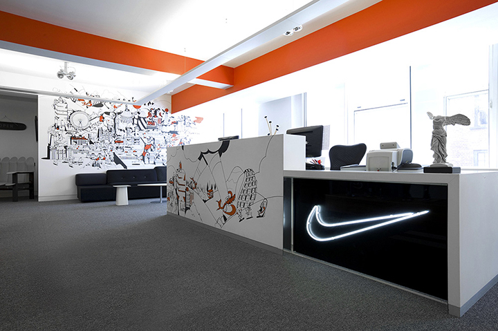 Nike redesigns UK headquarters 01