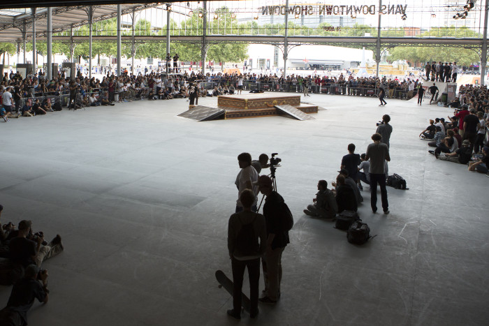 Vans Downtown Showdown, Paris 2013.
