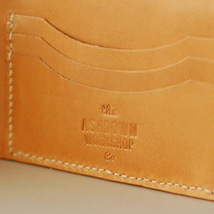 Ashdown Workshop Horween Collection Premium Bi-Fold Wallets 007