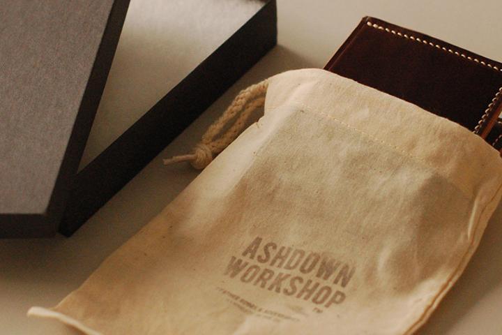 Ashdown Workshop Horween Collection Premium Bi-Fold Wallets 008