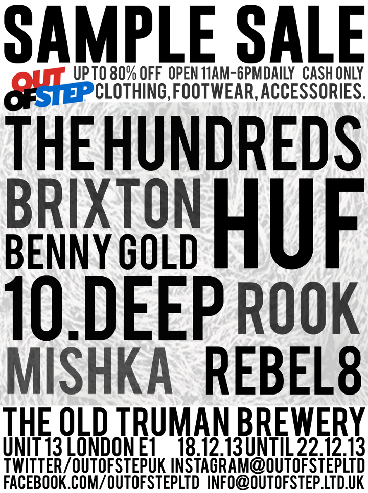 Out-of-Step-Streetwear-Sample-Sale-London-December-2013-1