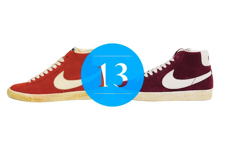 13 Nike Blazer High Vintage QS Spice Burgundy
