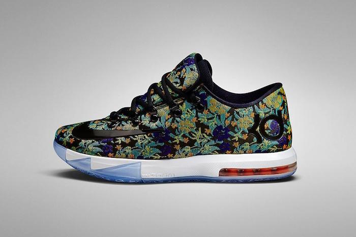 Nike KD VI EXT Floral UK Release 001