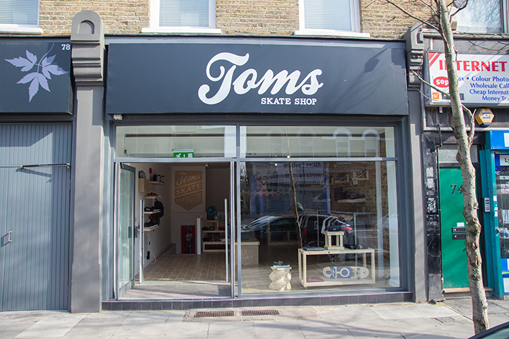 Toms Skate Shop Stoke Newington East London 003