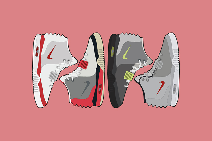 Nike Air Yeezy II Air Max Colourways The Lime Bath The Daily Street 001