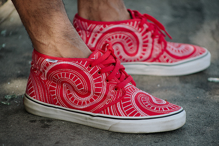 3656a54cca Supreme x Vans Spring 2014 collection (Chukka ...