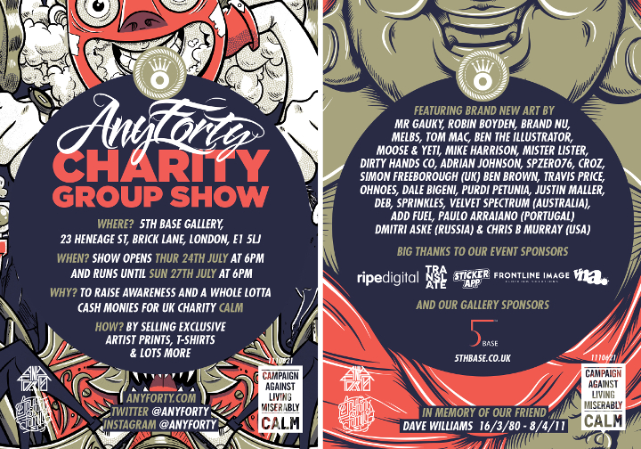 AnyForty_CALM-Group-Show-Flyer