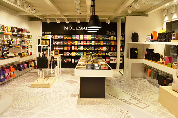 Moleskine pop-up store shop Old Street Station East London 003