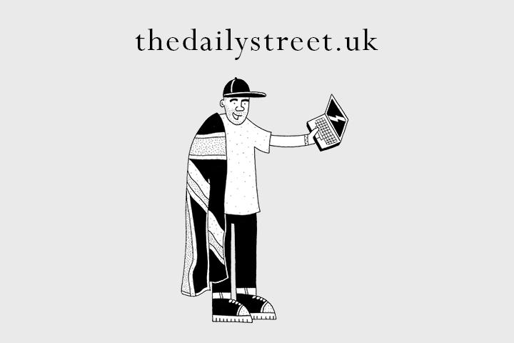 thedailystreet.uk Domain illustration by Josh Parkin