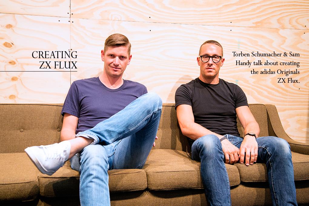 adidas Originals ZX Flux designer interview Sam Handy Torben Schumacher The Daily Street 001B