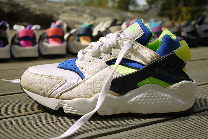 10 best Nike Air Huarache colourways of all time by Crepe City for The Daily Street Scream Green
