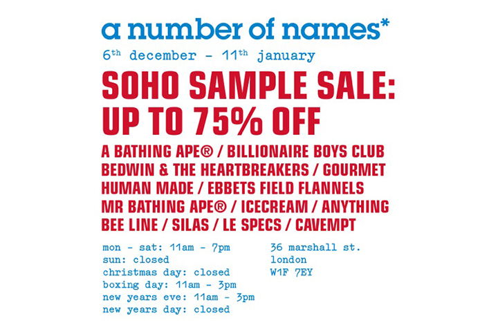 ANON-SOHO-SAMPLE-SALE